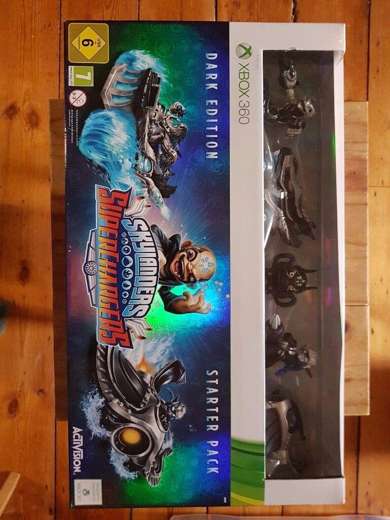 Skylanders Superchargers Dark Edition + Three Figures