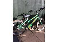 Boys BMX bike 12 inches frame