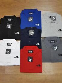 North face poloshirts