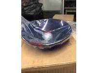 New cobalt blue glass circular basin (2 available)