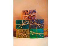 Pine Forest handmade soap by Heaven Senses