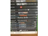 XBOX ONE Games. 13 Games All In All. PS4 Games, 3.