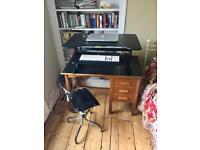 Desktop sit stand desk