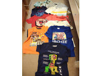 Bundle of clothes for Boy 5-6 years Spiderman, Skylanders in new, very good and good condition.