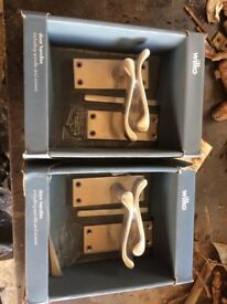 New in box silver door handles X2