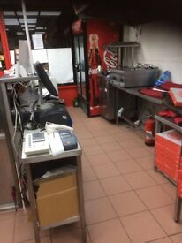 Takeaway Shop TO RENT - £200 per week incl. all fixing & fittings