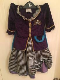 Girls 3-4 Years Pirate Costume
