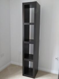 Ikea Shelving Unit / Sideboard - Dark Brown