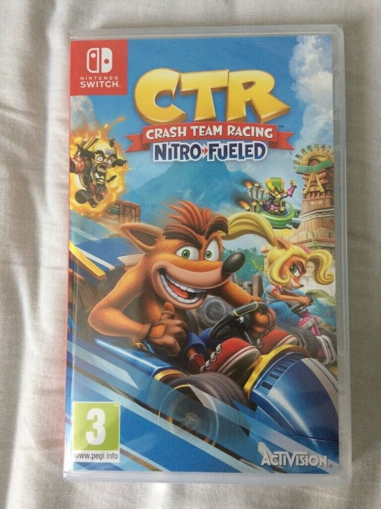 Crash Team Racing Nitro-Fueled Nintendo Switch (New/Sealed) | in Isle of  Dogs, London | Gumtree