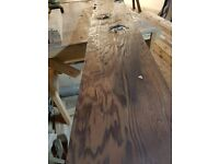 Large Slabs of African Hardwood