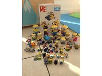 Over 40 Minion figures, toys, Despicable me