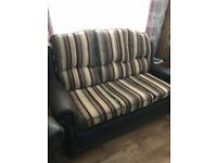 Fabulous three Seater Sofa and two Arm Chairs for Sale £250