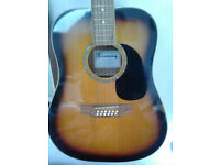harmony 12 string guitar