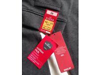 Girls grey school trousers age 10-11 M&S