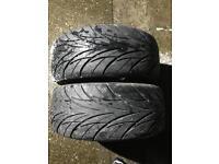 X2 Car tyres 225 40 18