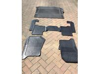 land rover Discovery 4 rubber car mats