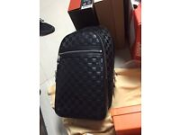 Louis Vuitton Michael leather backpack