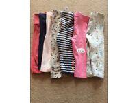 Baby girl leggings bundle assortment 2-9months