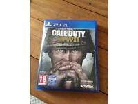 Call of Duty WW11 CoD world war 2 PS4 game