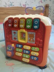 Vtech learning cube toy