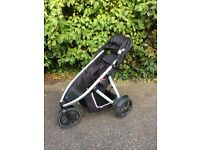 Phil & Ted Vibe Double Buggy with accessories