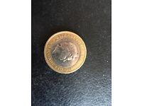 **The First World War 2 Pound Coin**