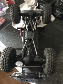 Axial scx10 d90 ready to run