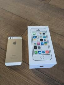 Apple iPhones 5s. Gold unlocked. 16 GB.