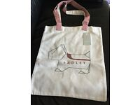 Radley London canvas shopper bag. Brand new with tags. £5