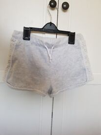 Girls River Island shorts age 9-10