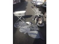 Mamas and papas baby travel system for £25
