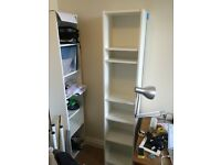 IKEA Billy Bookcase White x2, Excellent, Assembled, 20 each or 35 for both ono