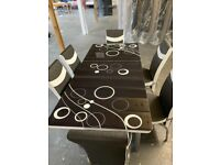 New Amazing Quality Dining Table with 6 Chairs Order Now Fast