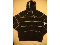 Mckenzie Boys Mens Hooded Hoodie Zipped Jumper Size Large
