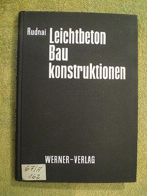 Leichtbeton Baukonstruktionen - Fachbuch Beton Porenbeton Decken Wände Putze