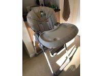 Hauck Sit n Relax Chair - highchair with newborn seat
