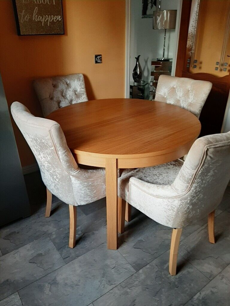 Dining table and 9 chairs   in East End, Glasgow   Gumtree