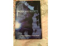 Work and Society by Tim Strangleman & Tracy Warren - 2008 (Paperback)