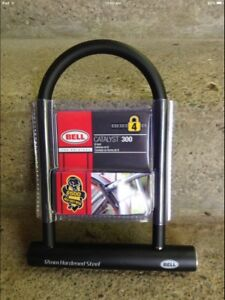 Bike Lock, Bell Catalyst 300 Steel, New In Package