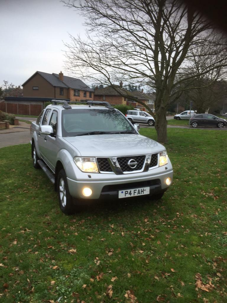 Nissan Navara Adventurer D/c Pick Up 57 Plate Now Reduced