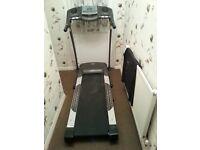 large treadmill.