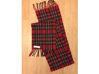 Pringles designer tartan scarf