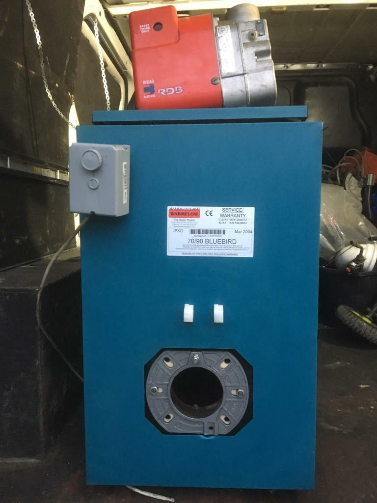 Warmflow 50/70 oil fired boilers and burners all in very good ...