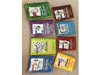Diary of a Wimpy Kid paperback books x 8