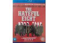 3 Blu-ray dvds for sale Keith lemon the film, the Inbetweeners movie, the hateful eight