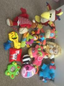 Baby toys set 0-12mths