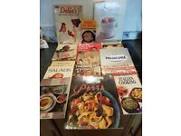 Well known Recipe Books.