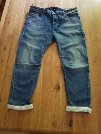 Womens Diesel Eazee (Relaxed Boyfriend / Low waist) Jeans - Size W28 - L30