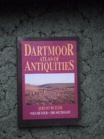 Dartmoor Atlas of Antiqiities Vol 4 Jeremy Butler