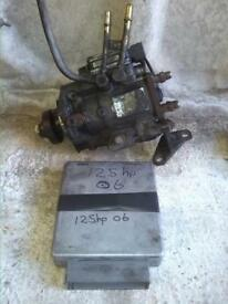 Ford transit 115/125bhp diesel fuel injection pump, from 2003 to 2006,